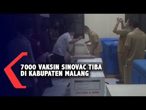 7000 Vaksin Tiba di Kabupaten Malang, Prioritas Bagi Nakes