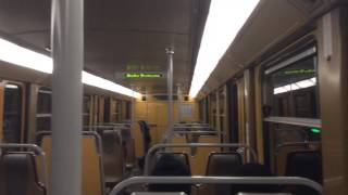 preview picture of video 'Riding the Brussels Metro Line 6 (Trip to Europe)'