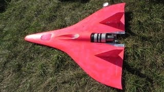 VERY VERY VERY FAST TURBINE POWERED RC JET 440 MPH SPEED GUINNESS WORLD RECORD 2013