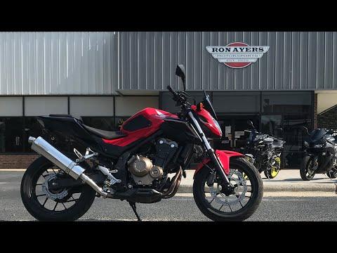 2017 Honda CB500F ABS in Greenville, North Carolina - Video 1