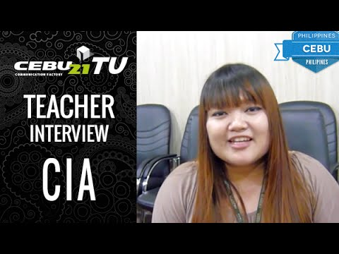 Interview of Teacher Melinda in CIA, CEBU  by フィリピン留学 CEBU21