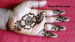 Simple Arabic Henna Mehndi Designs For Hands Free Video Search