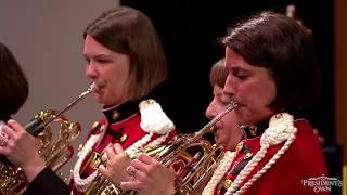 SCHUMANN - Lebhaft From Konzertstück In F For Four Horns, Op. 86 - U.S. Marine Band