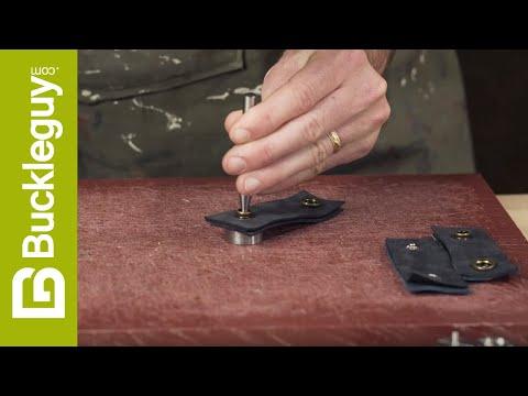 Natural Brass S-Spring Socket Cap 12.7mm Solid Brass-LL Long Post 100 per bag S127B10-LP Snap Button