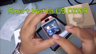 Smartwatch U 9 Dz 09 with Camera Bluetooth SIM card gsm camera mmc  jam tangan pintar telpon camera anak