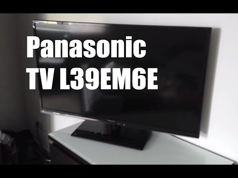 Panasonic TX L39EM6E Smart Viera Slim LED TV Review [Deutsch]
