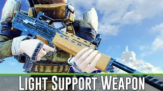 Fallout 4 - Light Support Weapon MOD