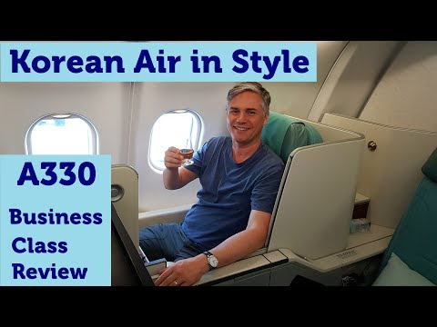 Korean Air in Style – Business Class on the A330