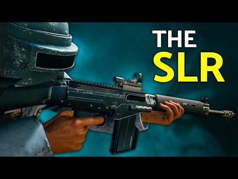 連發SLR 直接當步槍用 有夠狂的打法
