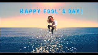HAPPY FOOLS DAY!!! +walking on water