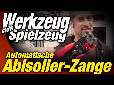 Automatische Abisolierzange | Was kann sie, warum braucht man sie? | WEST-BERLIN-CUSTOMS