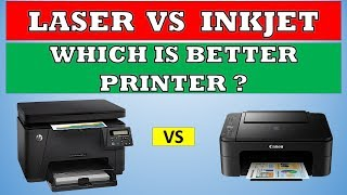Inkjet vs Laser Printers - Which is better and why ?