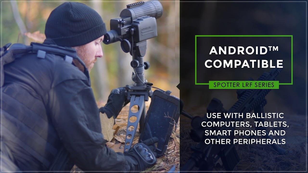 Видео о товаре Лазерный дальномер Newcon Optik Spotter LRF PRO 15-45x60