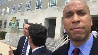 Watch senators hunt for the secretive Republican healthcare bill