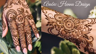 Stylish Arabic Henna Design | Rakhi 2019 Special Beautiful Mehndi Design For Hand