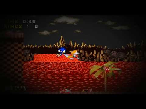 Sonic exe Nightmare Beginning - Give Up? (In-Game)(Music Exe-tended