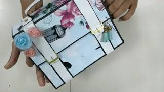 Handmade Gift !! Handmade Scrapbook !! For Manager/boss