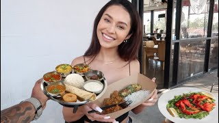 Trying INDIAN food for 1st time!