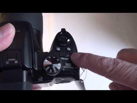 Fujifilm Finepix S8300 unboxing