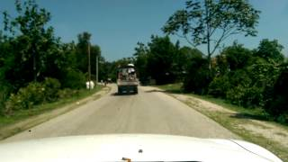 Haiti Trip 2014 - Driving to Gonaives
