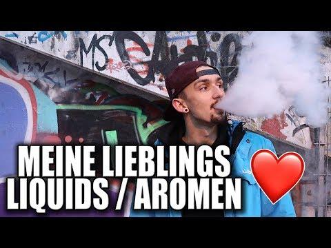 MEINE LIEBLINGS LIQUIDS / AROMEN ❤️ | E-Zigarette