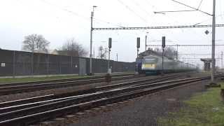 EJ 680.007 Pendolino jako vlak SC 505 SC Pendolino za vlakem 123