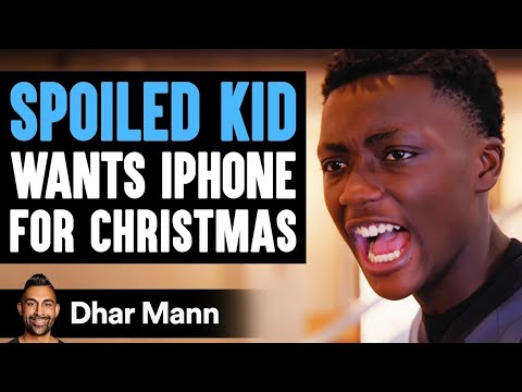 This Spoiled Kid Wants An iPhone 12