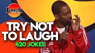 Try Not To Laugh | 420 Jokes | Laugh Factory Stand Up Comedy - Video Youtube