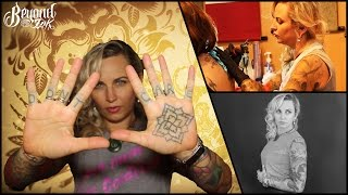 Tattoo itw with artist Nikole Lowe