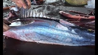 How to fillet  $700 50 pounds Tuna Fish  - Fillet Fast Way of Tuna