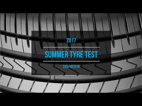 2017 Summer Tire Test Results | 245/45 R18