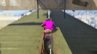 【GTA5】そんなバイクの走らせ方あり!?世界初のスーパーコース【4545隊】