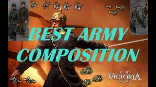 Victoria 2 BEST ARMY COMPOSITION GUIDE (Army Tutorial)