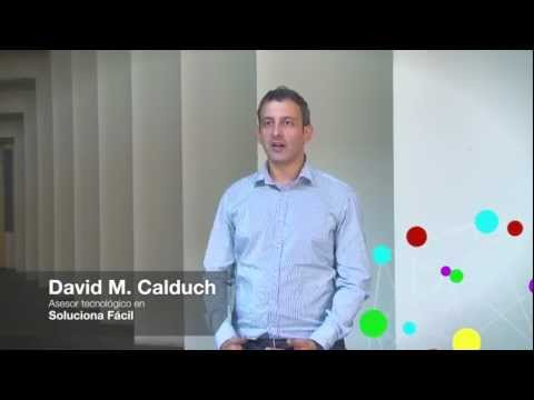 Entrevista David M. Calduch. Ponente enrédate Castellón 2012.