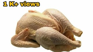 How To Cut Up A Whole Chicken/amazing Frozen Chicken Cutting Skills/ For Beginners And Bachelors
