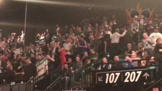 """Carl Frampton Fans  Singing """"Sweet Caroline"""" (Amazing Fans)"""