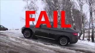 ►❄ ⛄ ❄ Snow Test   Audi Q7 Quattro vs BMW X6 xDrive Winter Time ❄️😂