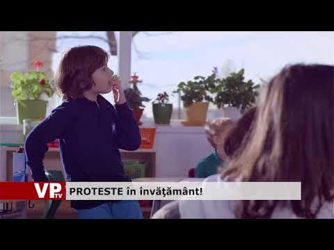 PROTESTE în învăţământ!