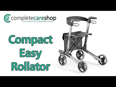 Compact Easy Rollator Demonstration