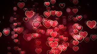 valentines day whatsapp status video | hearts motion graphics background hd | moving heart animation