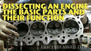 Dissecting An Engine, The Basic Parts And Their Functions   EricTheCarGuy