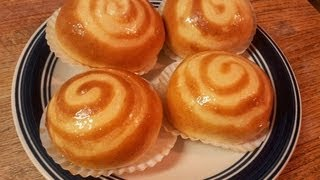 How To Make Milk Pudding Buns