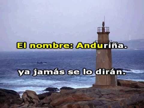 ANDURIÑA . Karaoke . Juan y Junior.
