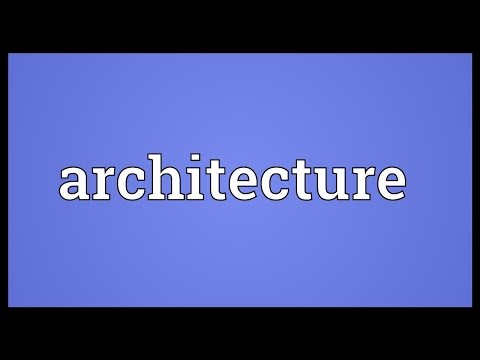 mp4 Architecture Meaning, download Architecture Meaning video klip Architecture Meaning