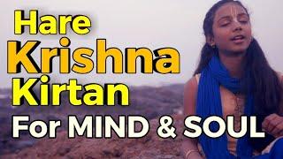 HARE KRISHNA MANTRA MEDITATION KIRTAN BY RADHIKA  - Baal Gopal - हरे कृष्णा मंत्र