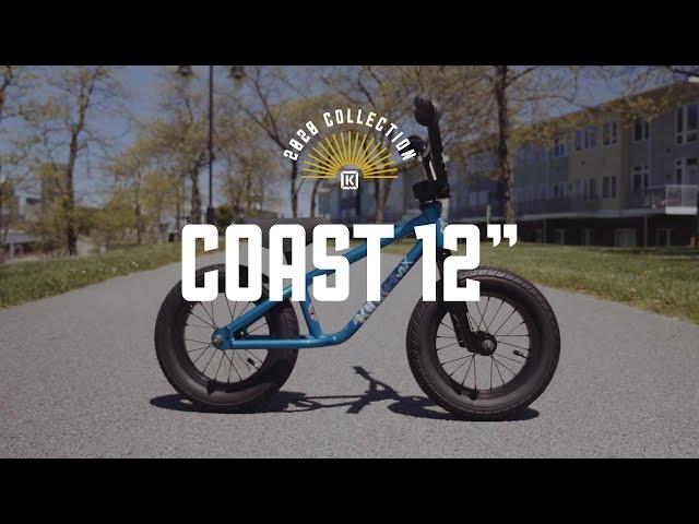"Видео Беговел KINK Coast 12"" голубой"