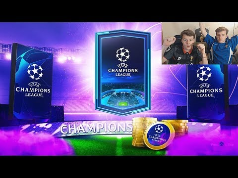 OMG OUR CHAMPIONS LEAGUE PACKS! WALKOUT! - UCL UEFA MARQUEE MATCHUPS SBC PACKS! FIFA 20 Pack Opening