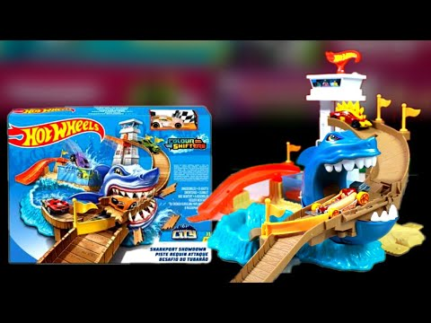 Hot Wheels Sharkport Showdown Colour Shifters|Unboxing & Review