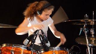 Juke Box Hero (Foreigner); drum cover by Sina
