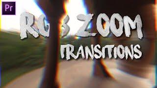 premiere pro transitions pack free download - 70 glitch rgb split